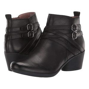 Dansko Roberta Black Ankle Boot 39/US 8.5 - 9 NEW